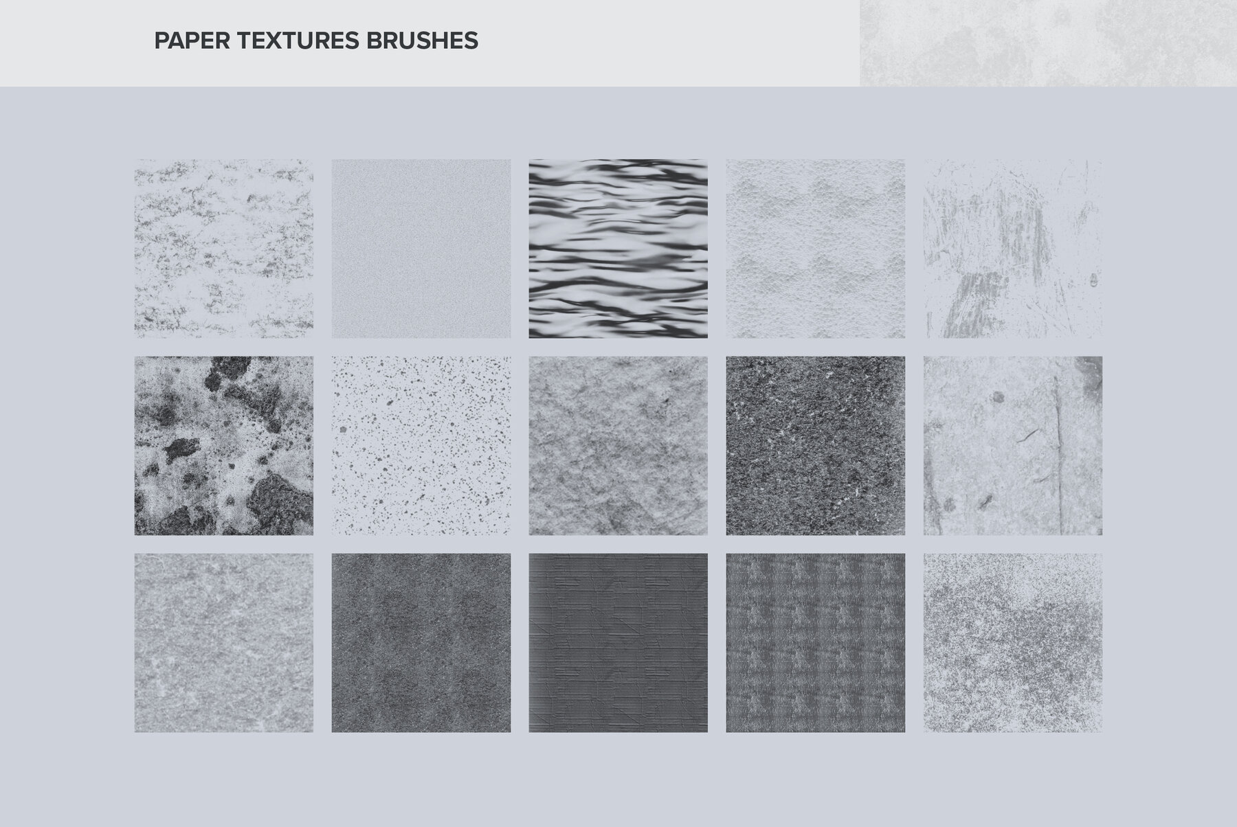 Paper Textures Brushes for Procreate