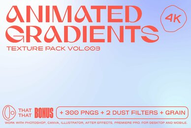 Animated Gradient Texture Pack Vol  3