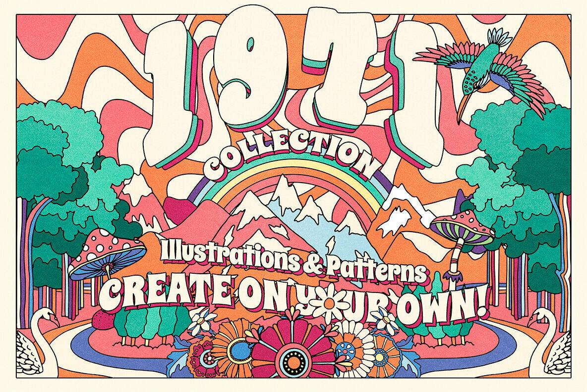 1971 Retro Graphic Collection