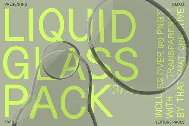 Liquid Glass Texture Pack