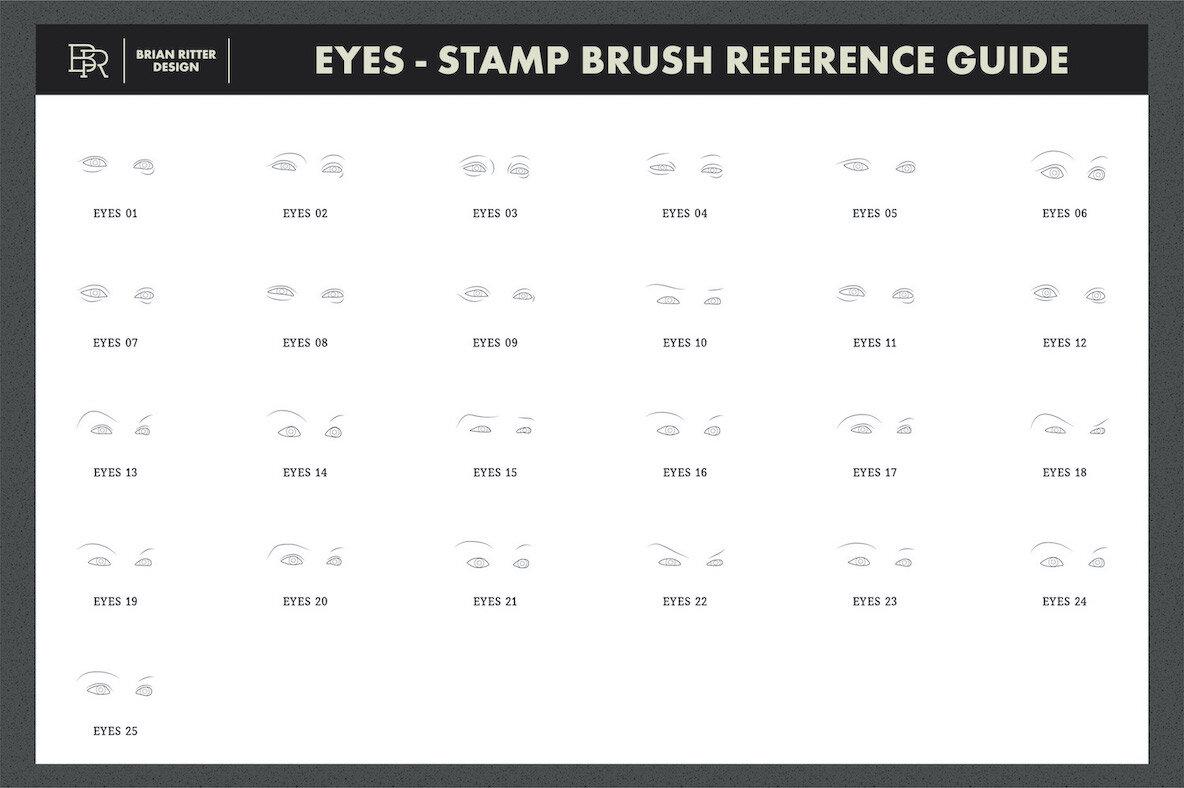 Portrait Brush Kit for Procreate