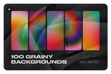 Grainy Backgrounds   100 Retro Gradients Pack