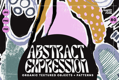 80s Abstract Elements and Patterns