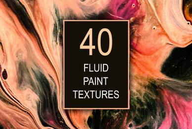 40 Fluid Paint Textures