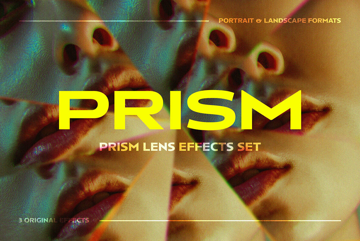 Crystal Prism Photo Effect