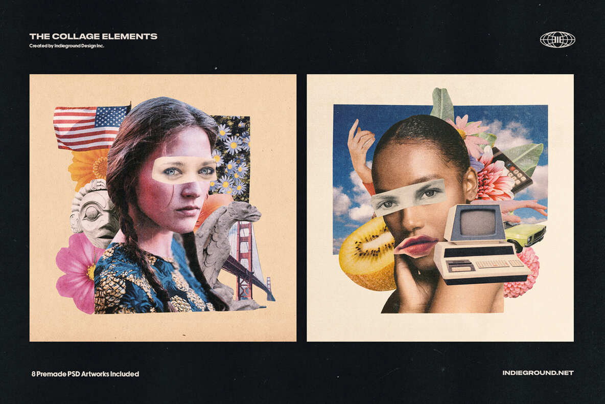 Collage Elements