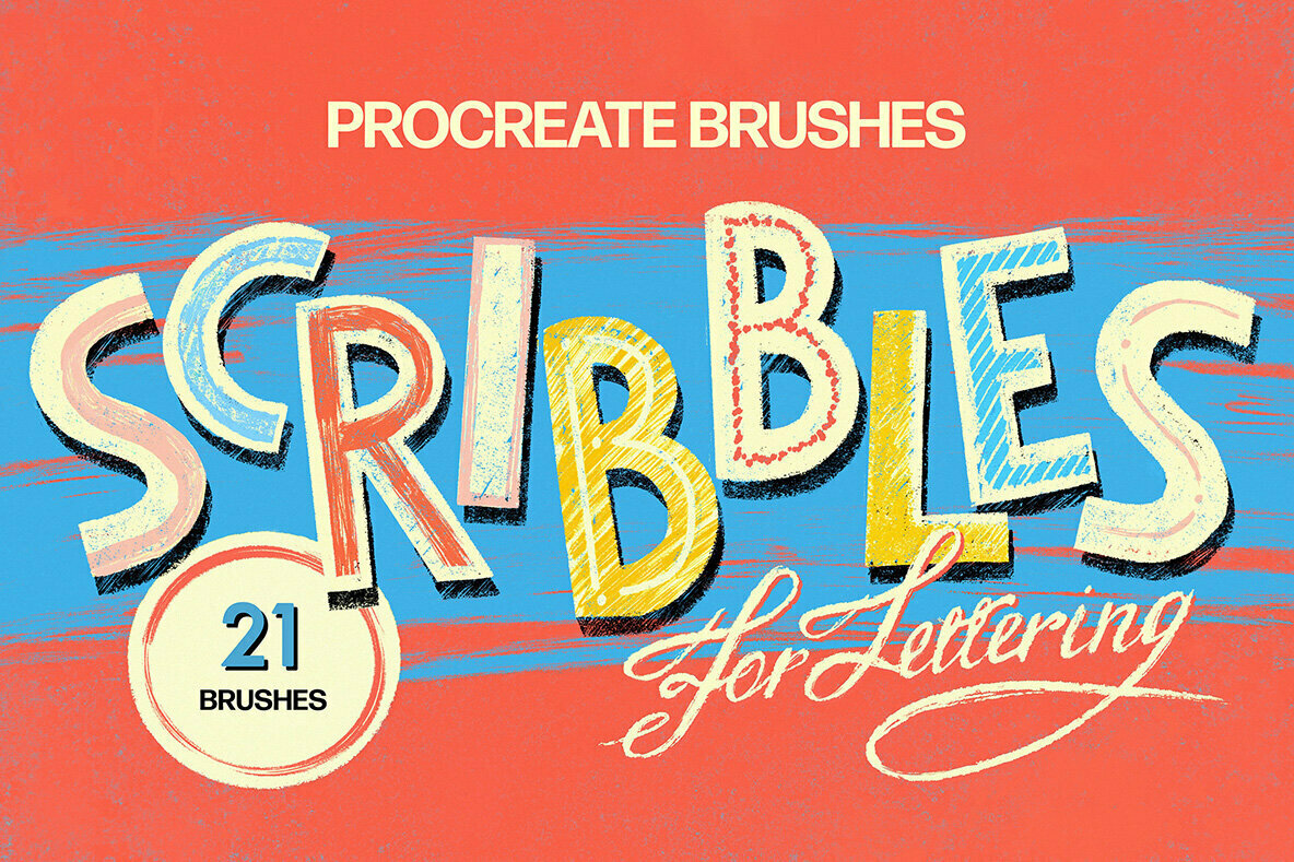 Scribbles Procreate Brushes