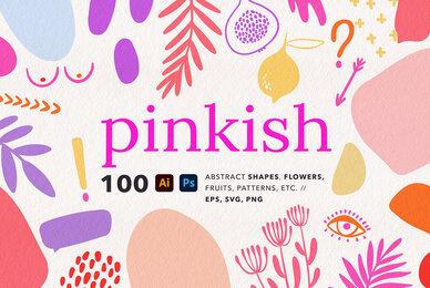 Pinkish   Vector Abstract Graphics