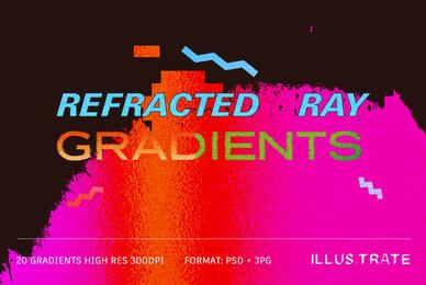 Refracted Ray Gradient Textures