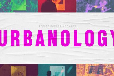 Urbanology Street Poster Mockups