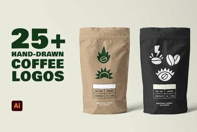 Hand Drawn Coffee Logos