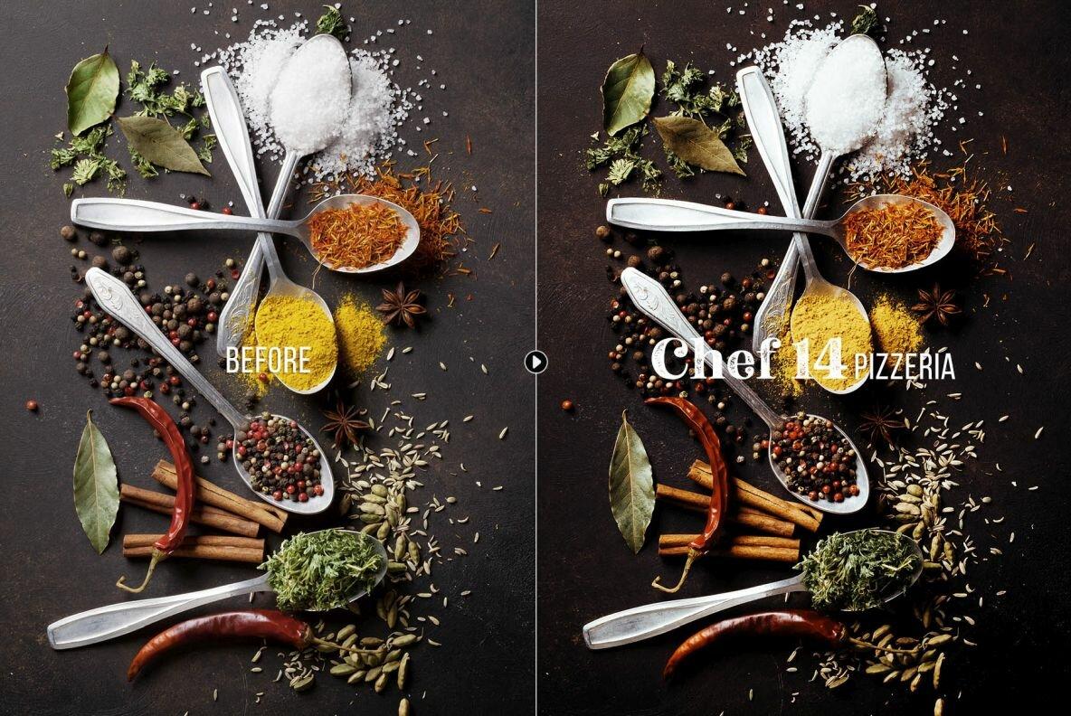 Chef   Food Presets for Desktop   Mobile