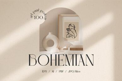 Bohemian Art Prints Posters