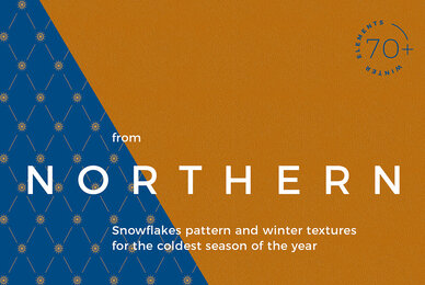 Northern Textures and Snowflakes