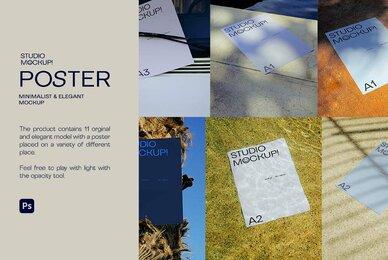 Posters Mockup Bundle