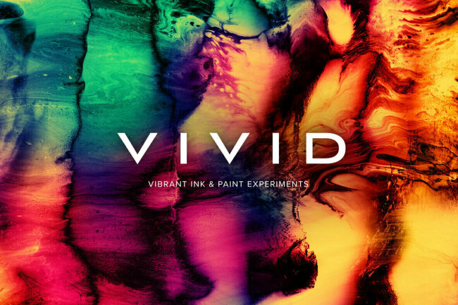 Vivid – Vibrant Ink & Paint Experiments from Chroma Supply