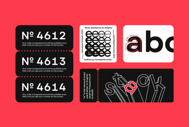 Garet: A Highly Versatile Sans Serif from Spacetype