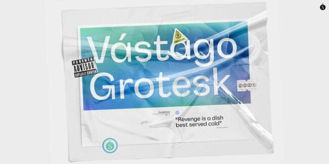 Vastago Grotesk: A Distinctive Sans Serif from Sudtipos