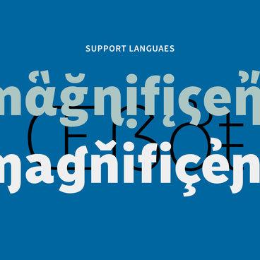 Monrad, a grotesque font that everyone can love.