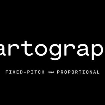Cartograph – A Modern Monospace Type Design