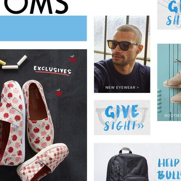 "Fonts For The ""One For One"" Ethos: YouWorkForThem & TOMS"