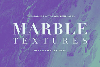 Elevate Graphic Artwork With Marble Textures