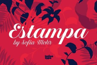 Estampa Script Evokes Patterns Of The Wild, Natural World