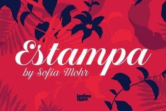 Estampa Script Evokes Patterns Of The Wild, Natural World