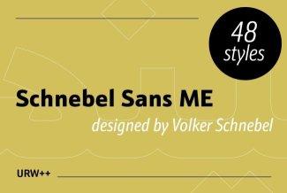Schnebel Sans Pro ME Reaches Perfection