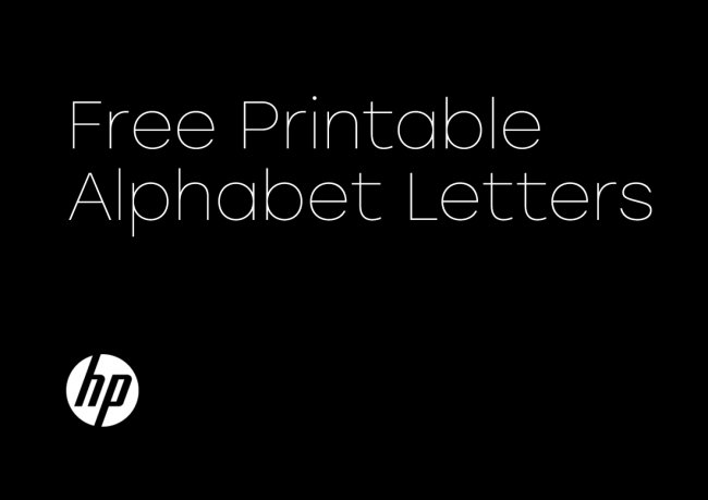 HP Chooses YouWorkForThem Custom Font Licensing for Pinterest Campaign