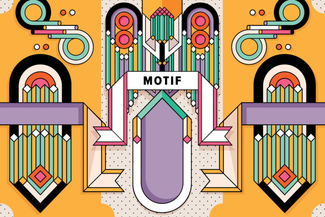 Explore A Visually-Striking Take On Art Deco Design With YWFT Motif