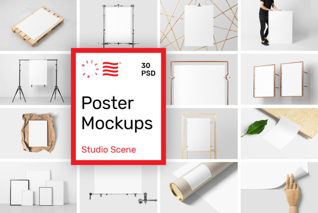 Create Attractive Visual Presentations With Poster Mockups