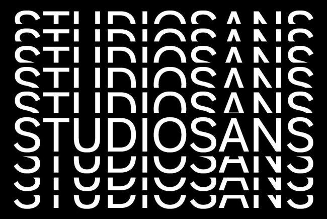 Studio Sans: A Fresh Sans Serif From A New Studio