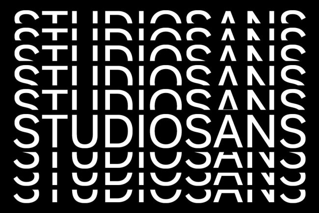 Studio Sans: A Fresh Sans Serif From A New Studio