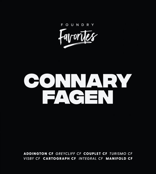 Foundry Favorites: Connary Fagen