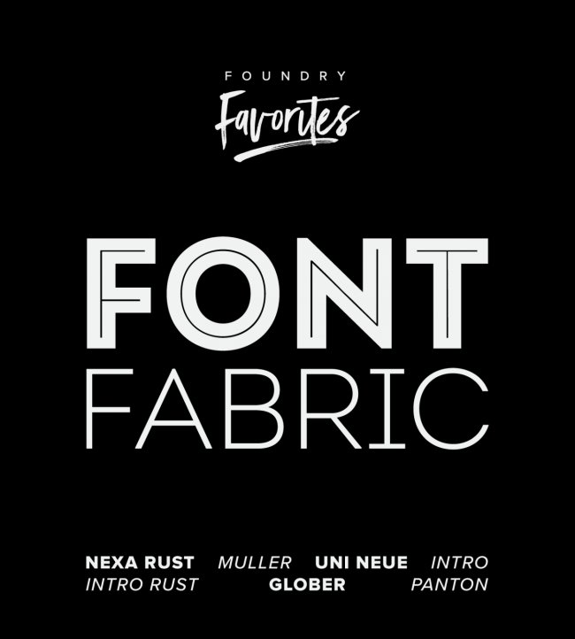 Foundry Favorites: Fontfabric