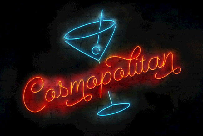 A Perfect Blend Of Script And Sans: Cosmopolitan From Emil Bertell
