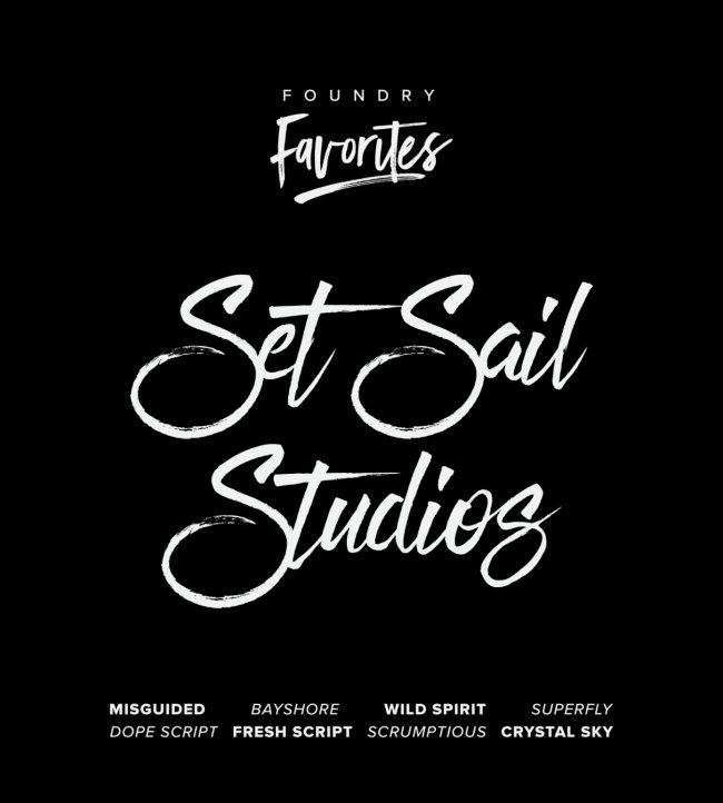 Foundry Favorites: Set Sail Studios Edition