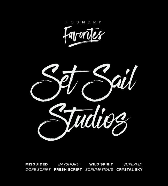 Foundry Favorites: Set Sail Studios Edition