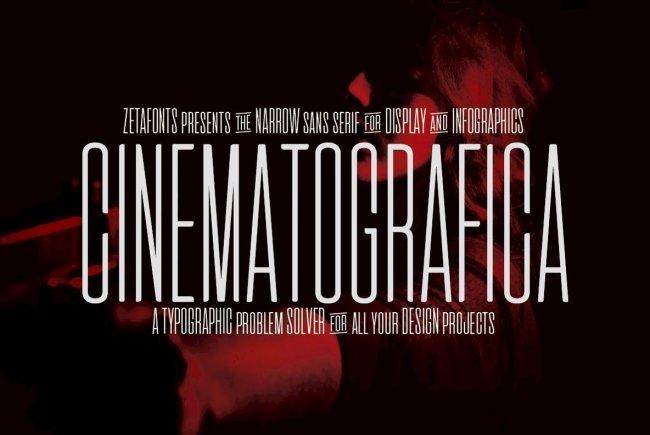 Cinematografica: A Dramatic, Ultra-Condensed Design For Film