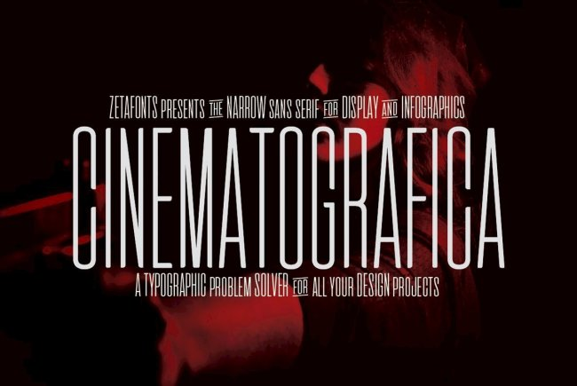 Cinematografica: A Dramatic, Ultra-Condensed Design For Film