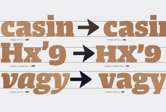 Harrison Serif Pro: A Gentlemanly Serif From TypeMates