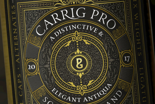 Antique Elegance Chiseled In Stone: Carrig Pro From Paulo Goode