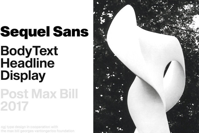 An Homage To Design Legend Max Bill: Sequel Sans
