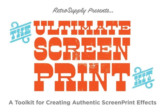 Create Easy Midcentury Effects With The Ultimate Screen Printing Kit From RetroSupply Co.