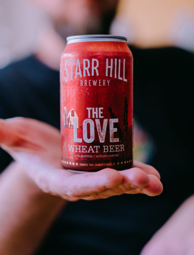 Fonts Hand-Crafted For Craft Beer: YouWorkforThem and Starr Hill Brewery