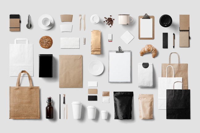 Brew Fresh And Hot Presentations With Coffee Branding Mockup