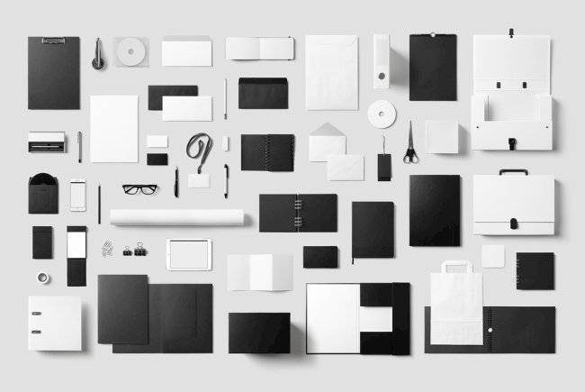 Create Smart Business Presentations With Corporate Stationery Mockup