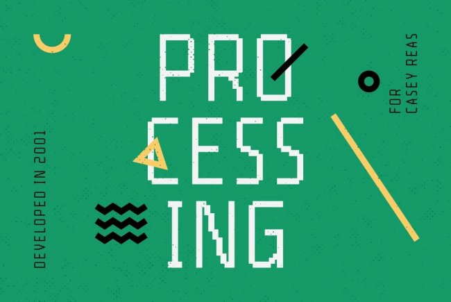 A Timeless Bitmap Font Family: YWFT Processing