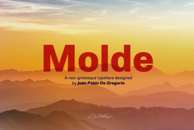 A Massive Sans Serif Family From Letritas Foundry: Molde